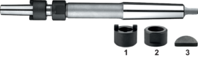 Torax Opsteekhouder, DIN 217, voor opsteekruimers DIN 219 en opsteekopboor DIN 222, MK