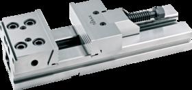 Machineklem met achterspindel- 88.440 - bij uitstek geschikt voor frees- en slijpwerk' met hoge repeteernauwkeurigheid' parallelliteit 0'005/100 mm' haaksheid 0'005 mm