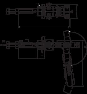 Snelspanklem met hevelarm- 88.920 -
