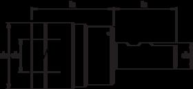 Taphouder- 81.602 - voor gebruik met tapinzetstukken' met Weldon-opname