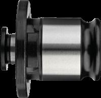 Tapinzetstuk' zonder ratel- 81.651 - voor machinetappen volgens DIN' type 13/10 Gr. 0