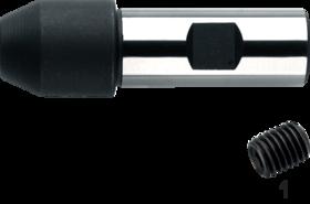 Reduceerhuls- 82.160 - voor gereedschap met cilindrische opname' met opspanvlak DIN 1835-B (Weldon)