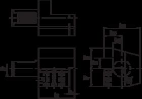 Gereedschapshouder- 83.123 - gereedschapshouder axiaal' links' omgekeerd