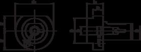 Gereedschapshouder- 83.155 - gereedschapshouder voor MK-opname DIN 228-B