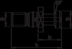 Aantrekbout- 84.770 - DIN 69872-B
