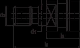 Torax Aantrekbout, SK volgens DIN 2080, systeem OTT