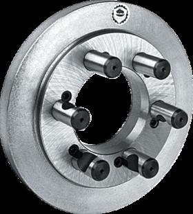 Klauwplaatflens- 85.962 - vervaardigd uit gietijzer' met directe opname volgens DIN 55029 (Camlock)' voorgedraaide onbewerkte uitvoering' BISON-type 8242