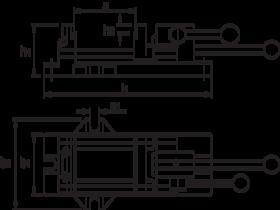 Bison Snelspanmachineklem, type 6540