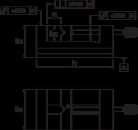 Slijpklem- 88.340 - klasse 1' geschikt voor precisie slijp-' frees- en meetwerk' bewegende bek uitgevoerd met horizontaal en verticaal prisma