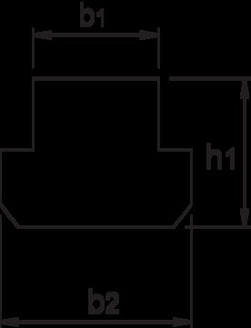 T-gleufmoer- 88.613 - DIN 508-R' uit veredeld staal