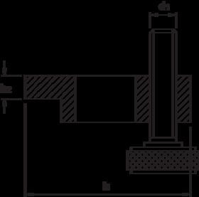 Spanijzer- 88.705 - Type 6314-AT' met stelschoef