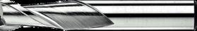 Spiebaanfrees met middellange snijlengte- 32.260 - gladde cil. schacht' in precisie uitvoering' tolerantie ± 0'01 mm' uit M42-staal