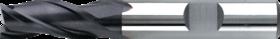 Universeelfrees met middellange snijlengte- 33.224 - DIN 844-K' cil. schacht met opspanvlak type Weldon (DIN 1835-B)' uit M42-staal