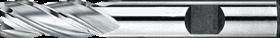 Vingerfrees met middellange snijlengte- 34.220 - DIN 844-K' centrumsnijdend t/m 25 mm' cil. schacht met opspanvlak type Weldon (DIN 1835-B)' uit M42-staal