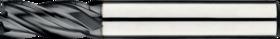 Vingerfrees met middellange snijlengte- 34.262 - DIN 6527-L' gladde cil. schacht