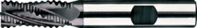 Ruwfrees met middellange snijlengte- 35.528 - DIN 844-K' spiraalhoek 35°
