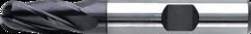 Oliegroeffrees- 36.324 - DIN 844-K' cil. schacht met opspanvlak type Weldon (DIN 1835-B)' uit M42-staal