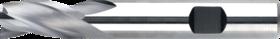 Universeelfrees met lange snijlengte- 33.250 - DIN 6527-L' cil. schacht met opspanvlak type Weldon (DIN 6535-HB)