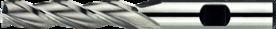 Universeelfrees met lange snijlengte- 33.520 - DIN 844-L' cil. schacht met opspanvlak type Weldon (DIN 1835-B)' uit M42-staal