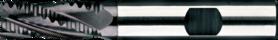 Ruwfrees met middellange snijlengte- 35.128 - DIN 844-K' centrumsnijdend' cil. schacht met opspanvlak type Weldon (DIN 1835-B)' met ronde tand' uit PM staal' voor een optimaal resultaat