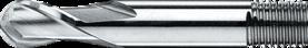 Oliegroeffrees- 36.200 - DIN 327' cil. schacht met aantrekdraad' uit M42-staal