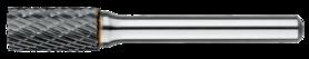Stiftfrees cilindrisch- 41.510 - cilindrisch model zonder kopvertanding' met stalen schacht