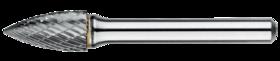 Stiftfrees boomvorm spits- 41.570 - met stalen schacht
