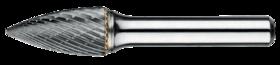 Stiftfrees boomvorm spits- 41.578 - met stalen schacht