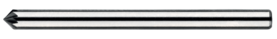 Stiftfrees kegelvorm- 41.613 - met stalen schacht