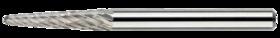 Stiftfrees kegelvorm- 41.623 - met stalen schacht