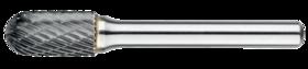 Stiftfrees cilindrisch- 41.530 - cilindrisch' ronde kop' met stalen schacht