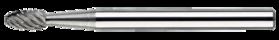 Stiftfrees druppelvorm- 41.553 - met stalen schacht
