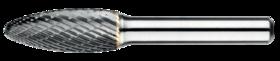 Stiftfrees vlamvorm- 41.588 - met stalen schacht