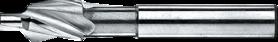 Kopverzinkfrees- 43.240 - DIN 1866' cil. schacht' fijnpassing voor kerngaten (de voorboordiameter voor M schroefdraadsnijden