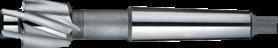 Kopverzinkfrees- 43.410 - DIN 373' con. schacht' middelpassing voor doorlopende gaten