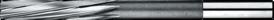 Machineruimer- 51.350 - DIN 212' cil. schacht' spiraalgroeven' tolerantie: t/m 3'00 mm = -0/+0'003' t/m 6'00 mm = -0/+0'004' t/m 20'10 = -0/+0'005 mm