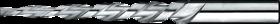Pengatschilruimer- 51.850 - coniciteit 1:12'5' cil. schacht' spiraalgroeven' hoek 4°34'' voor machinaal gebruik
