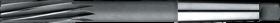 Machineruimer conisch- 51.510 - DIN 208' con. schacht' spiraalgroeven