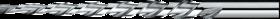 Pengatschilruimer- 51.830 - cil. schacht' spiraalgroeven' hoek 2°51'' voor machinaal gebruik