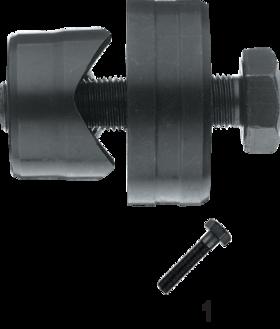 Gatenpons sanitair- 67.250 - voor het stansen van gaten in spoelbakken en dergelijke' compleet met trekbout M10x1