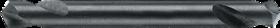 Spiraalboor kort DIN 1897- 11.130 - DIN 1897' cil. schacht' extra korte geslepen uitvoering' met kruisaanslijping vanaf 1'6 mm' tophoek 118°
