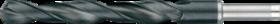 Spiraalboor standaard DIN 338- 11.408 - met afgedraaide cil. schacht' gewalste uitvoering' tophoek 118°