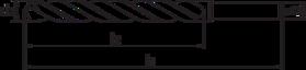 Spiraalboor standaard DIN 338- 11.410 - met afgedraaide cil. schacht' gewalste uitvoering' tophoek 118°