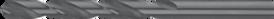 Spiraalborenset metaal- 19.116 - DIN 1897' extra korte uitvoering' met kruisaanslijping vanaf 2'0 mm' in kunststof cassette' gevuld met boren uit artikelgroep 11.160