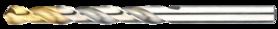Spiraalborenset metaal- 19.134 - DIN 338' blank geslepen uitvoering' met kruisaanslijping vanaf 3'0 mm' gevuld met boren uit artikelgroep 11.430