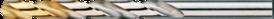 Spiraalboor standaard DIN 338- 11.450 - DIN 338' cil. schacht' korte geslepen uitvoering' met kruisaanslijping vanaf 1'0 mm' tophoek 118°