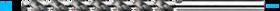 Spiraalboor lang DIN 340- 11.874 - DIN 340' type TS' met sterke spiraalhoek