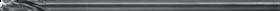 Spiraalboor lang DIN 340- 11.880 - DIN 340' type TS' voor diepgatboren' cil. schacht' lange uitvoering' met kruisaanslijping' tophoek 130°