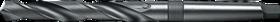 Spiraalboor standaard DIN 338- 12.150 - con. schacht' korte uitvoering' met kruisaanslijping' tophoek 130°