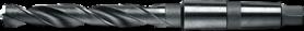 Spiraalboor standaard DIN 338- 12.440 - DIN 345' con. schacht' gefreesde en geslepen uitvoering' met verdunde punt vanaf 14 mm' tophoek 118°